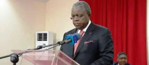 Le Ministre de la Comunication du Cameroun (c) Odile Pahai