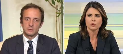 Massimiliano Fadriga della Lega e Simona Bonafè del Partito Democratico.
