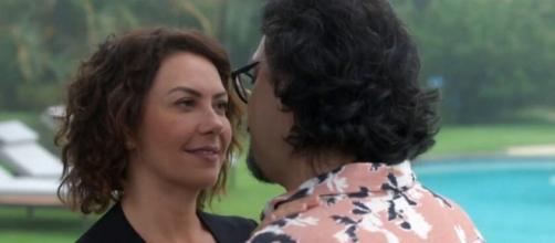 Nana e Mario descobrirão gravidez nos últimos capítulos. (Reprodução/TV Globo)