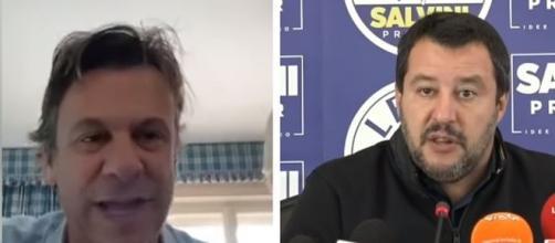 Nicola Porro e Matteo Salvini.