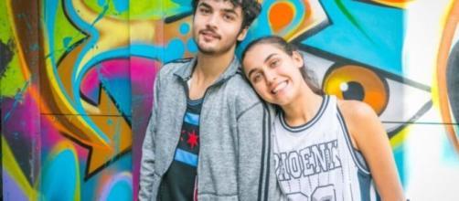 Vicente e Gabriela formam casal em 'Bom Sucesso'. (Divulgação/TV Globo)