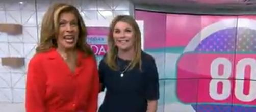 Hoda Kotb, Jenna Bush Hager are counting down seconds and days before sharing their show with a live audience. [Image source: TODAY/YouTube]