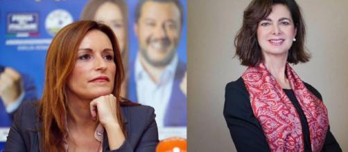 Lucia Borgonzoni e Laura Boldrini