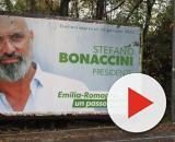 Il candidato del centrosinistra Stefano Bonaccini.
