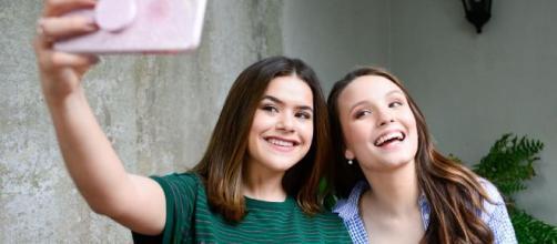 Maísa e Larissa Manoela foram à casa de Tatá Werneck e Rafael Vitti. (Arquivo Blasting News)