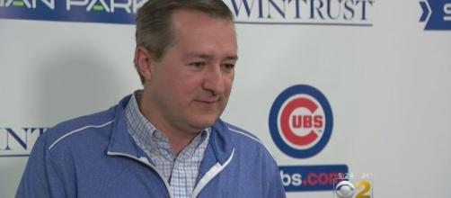 The Chicago Cubs owner is in denial, [Image via CBS Chicago/YouTube]