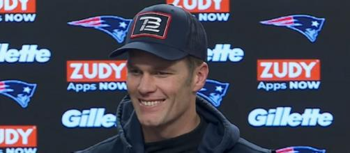 Brady says it's like a normal week for him. [New England Patriots/YouTube]
