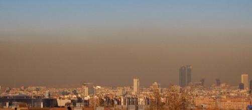 El cielo de Madrid. Fotografía de Sergio Cambelo