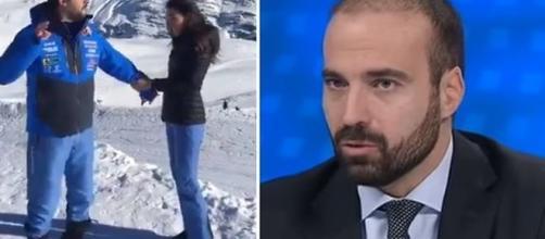 Luigi Marattin ha attaccato Matteo Salvini per l'imitazione di Papa Francesco.