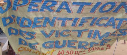 Opération d'identification des vicitimes de guerre (2002-2011) en Côte d'ivoire
