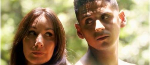 Fani y Rubén en 'La isla de la tentaciones'