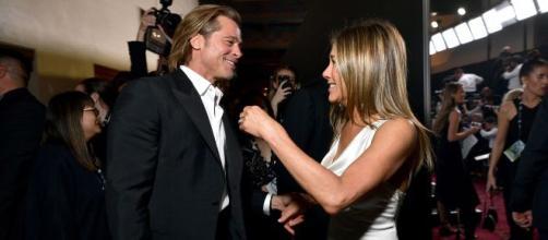 Jennifer Aniston y Brad Pitt: las fotos del reencuentro más esperado. - infobae.com