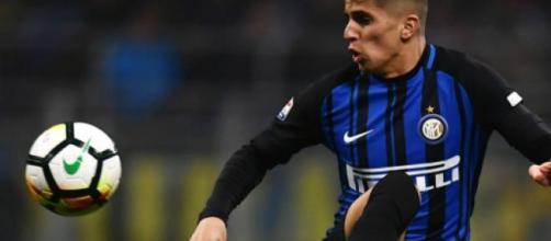 Joao Cancelo con la maglia dell'Inter