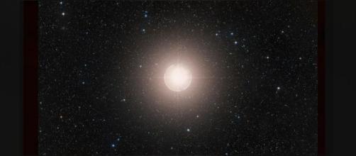 Supernova |La imagen digitalizada de como sería la Estrella Betelgeuse (Foto: European southern Observatory 2020 The New York)