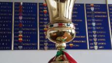 Coppa Italia, il programma dei quarti: apre Napoli-Lazio, Milan-Torino il 28 gennaio
