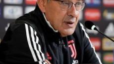 Sarri: 'Non so il motivo ma abbiamo sbagliato le due partite contro la Lazio'