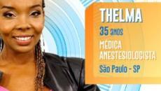 'BBB20': Thelma pediu demissão e 'enganou' pessoas do hospital para participar do reality