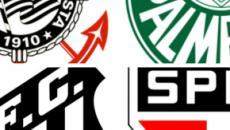 Corinthians, Palmeiras, Santos e São Paulo começam o Paulistão