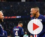 PSG : Neymar et Mbappé. Credit: Intagram/psg