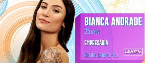 Bianca Andrade, a Boca Rosa, está no 'BBB20'. (Divulgação/TV Globo)