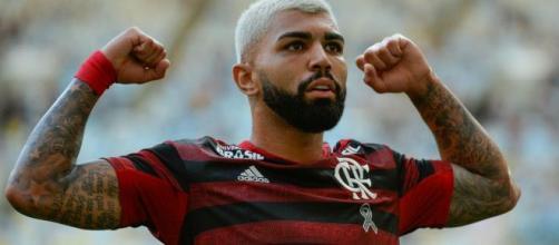 Gabigol foi o maior artilheiro do Flamengo em 2019. (Arquivo Blasting News)