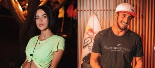 Manu Gavassi e Lucas Chumbo: amiga de Bruna Marquezine e amigo de Neymar, respectivamente, no 'BBB20'. (Fotomontagem)