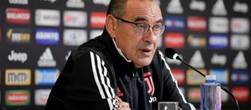 Maurizio Sarri, tecnico della Juventus.