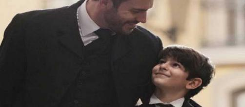 Una Vita, spoiler: Telmo rivela agli abitanti di essere il padre di Mateo