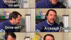 7 meme su Salvini che citofona per chiedere: 'Lei spaccia?'