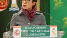 María Gámez toma posesión como primera mujer directora general de la Guardia Civil