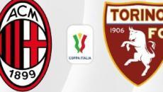 Milan-Torino, Coppa Italia: partita in tv su Rai 1 mercoledì 28 gennaio