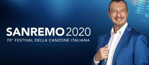 Amadeus, direttore artistico e presentatore del Festival di Sanremo 2020.