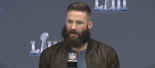 Edelman played 16 games in the regular season despite suffering from various ailments (Image Credit: New England Patriots/YouTube)