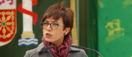 María Gámez, durante su toma de posesión.