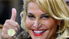 Simona Ventura torna a ruggire da Chiambretti: 'Ho ripreso la mia energia, la mia forza'