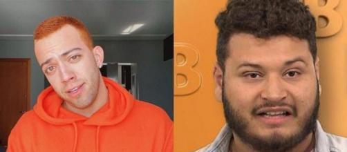 'BBB20': Lucas Rangel detona brother após ser chamado de 'youtuberzinho'. (Reprodução/Fotomontagem)