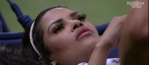 Flayslane diz que os participantes tem medo de se mostrar e os chama de insuportáveis. (Reprodução/TV Globo)
