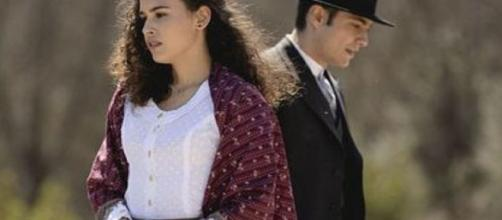 Il Segreto anticipazioni: Prudencio e la Mendana lasciano il paese dopo essersi sposati