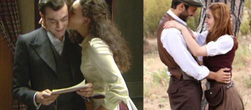 Il Segreto, spoiler: Lola e Prudencio raggiungono Julieta e Saul dopo il matrimonio.