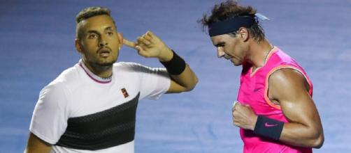 Nick Kyrgios e Rafa Nadal potrebbero affrontarsi negli ottavi degli Australian Open.