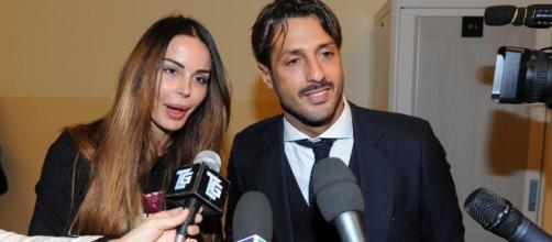 Nina Moric e Fabrizio Corona uniti per il figlio.
