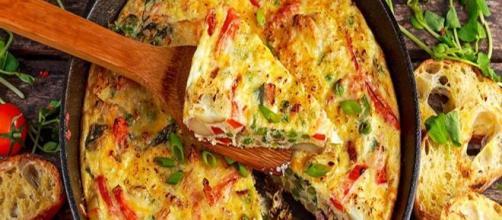 Omelete de legumes prático e delicioso. (Arquivo Blasting News)