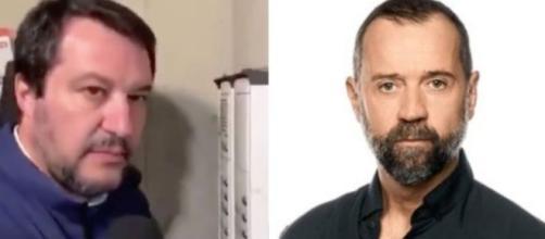 Salvini citofona a un presunto spacciatore, Volo lo attacca in diretta radiofonica, interviene il direttore di Radio Deejay.