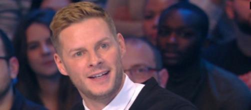 TPMP : Matthieu Delormeau révèle que sa famille a appris qu'il était homosexuel à travers la presse people. Credit: Capture/C8