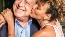 Sheron Menezzes se despede de Antonio Fagundes ao fim de 'Bom Sucesso': 'amo você'