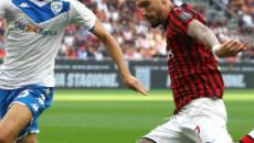 Seria A, Brescia-Milan probabili formazioni: Suso fuori, non ci sarà Balotelli
