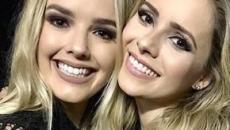 Sandy se derrete ao comentar foto de filha de Thaeme na web: 'princesa'