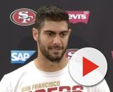 Garoppolo led the 49ers to a 13-3 record this season (Image Credit: San Francisco 49ers/YouTube)