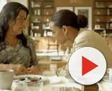 Lurdes terá ajuda de Vitória, em 'Amor de Mãe'. (Reprodução/TV Globo)