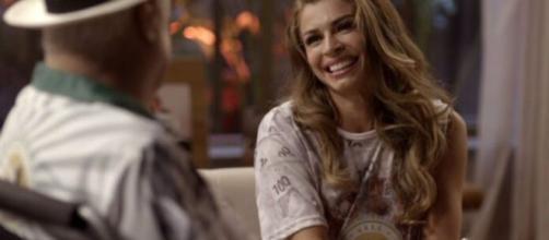 Alberto e Paloma construíram amizade sólida ao longo de 'Bom Sucesso'. (Reprodução/TV Globo).